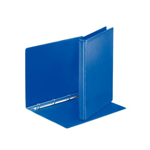 Esselte Presentation Binder 4-Ring 16mm A4 Blue PK10