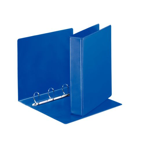 Esselte Presentation Binder 4-DRing 40mm A4 Blue PK10