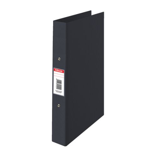 Esselte Ring Binder 2-Ring 25mm A4 Black PK10
