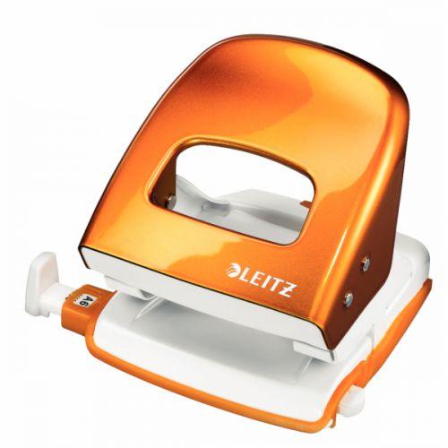 Leitz NeXXt WOW Hole Punch 3mm 30 Sheet Orange Ref 50081044L