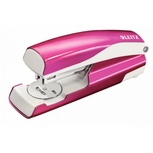 Leitz NeXXt WOW Stapler 30 Sheets Metallic Pink  55021023