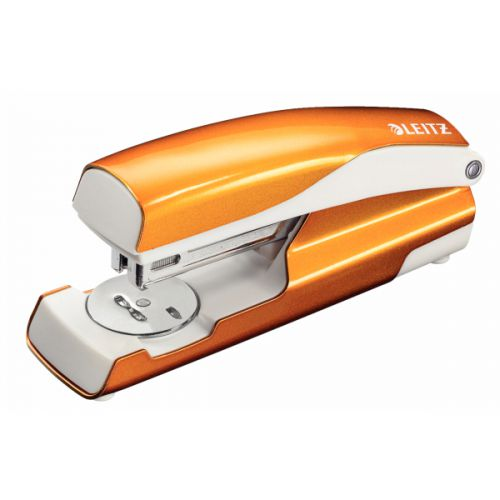 Leitz NeXXt WOW Stapler 30 Sheets Metallic Orange  55021044