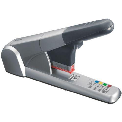 Leitz 5551 Heavy Duty Stapler Silver 55510084