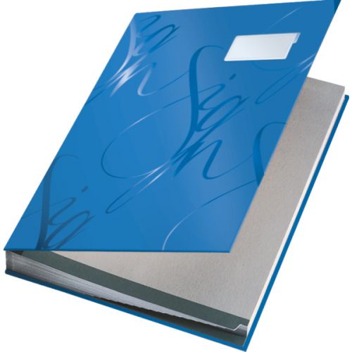 Leitz Signature Book 20 Compartment Blue 57000035