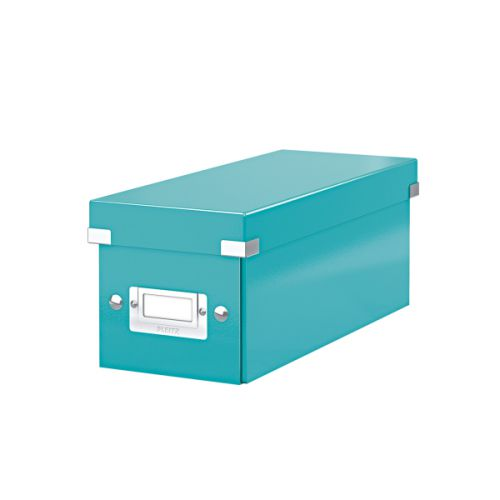 Leitz Click & Store CD Storage Box Ice blue