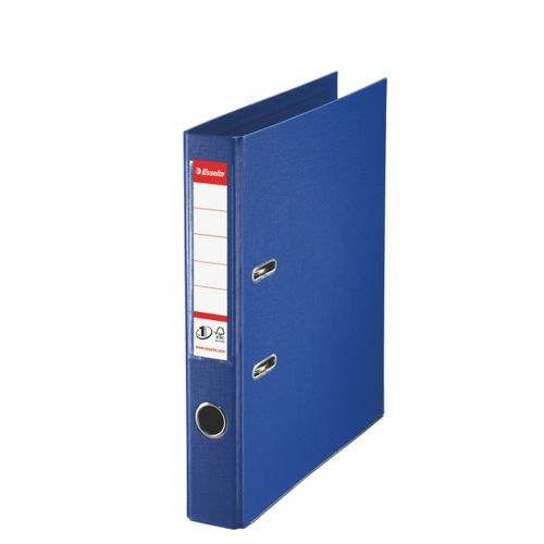 Esselte No1 Power Lever Arch Polyprop A4 50mm Blue PK10