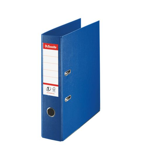 Esselte No1 Lever Arch File Polyprop A4 75mm Navy Blue PK10