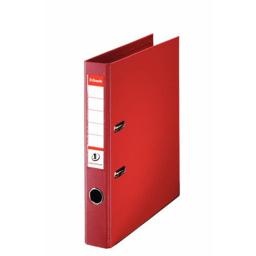 Esselte No1 Lever Arch File Polypropylene A4 50mm Red PK10