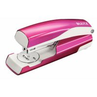 Leitz NeXXt WOW Stapler 3mm 30 Sheet Pink Ref 55021023L [REDEMPTION] Apr-Jun20