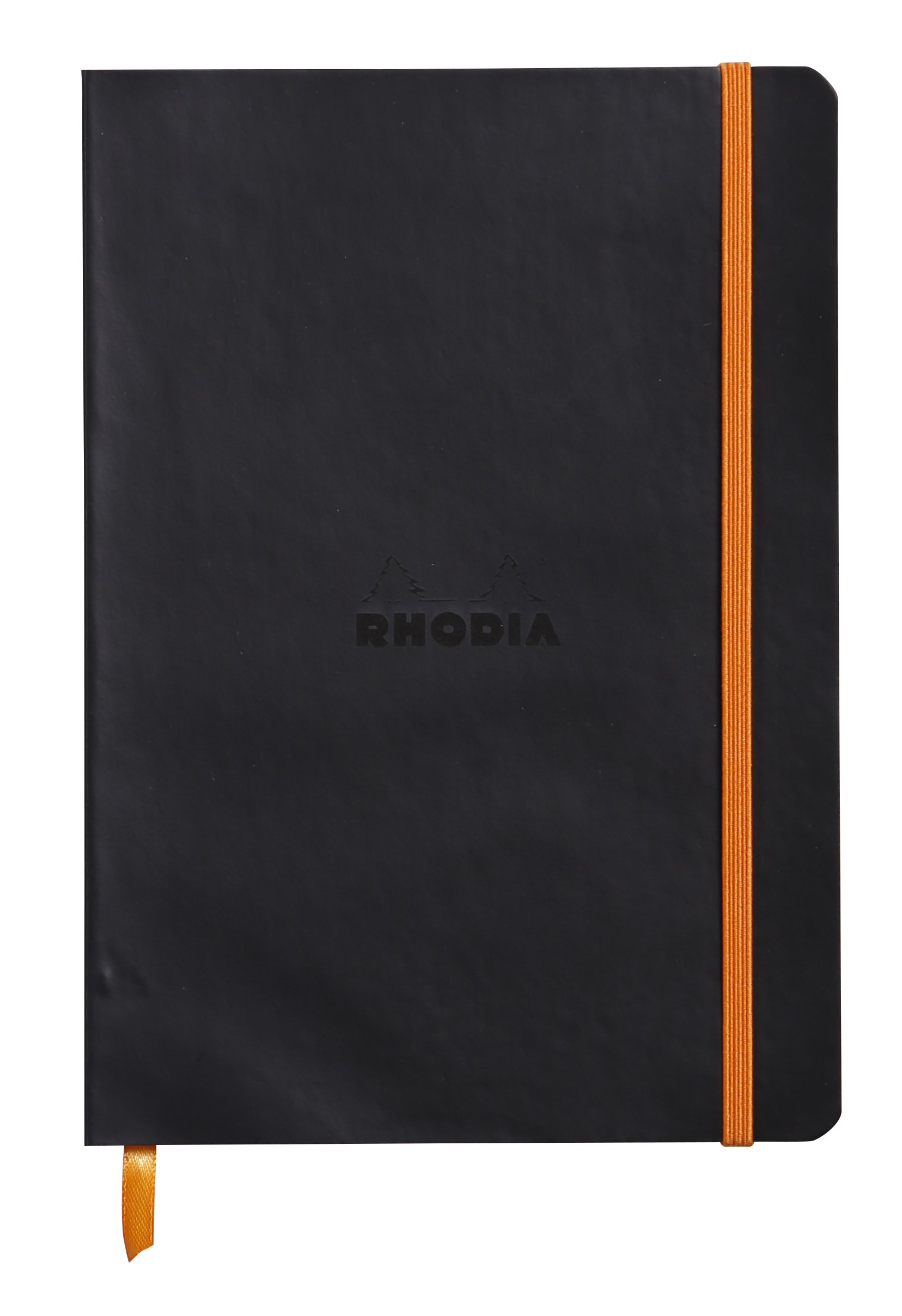 Rhodiarama Softcover Notebook Lined A5 Black