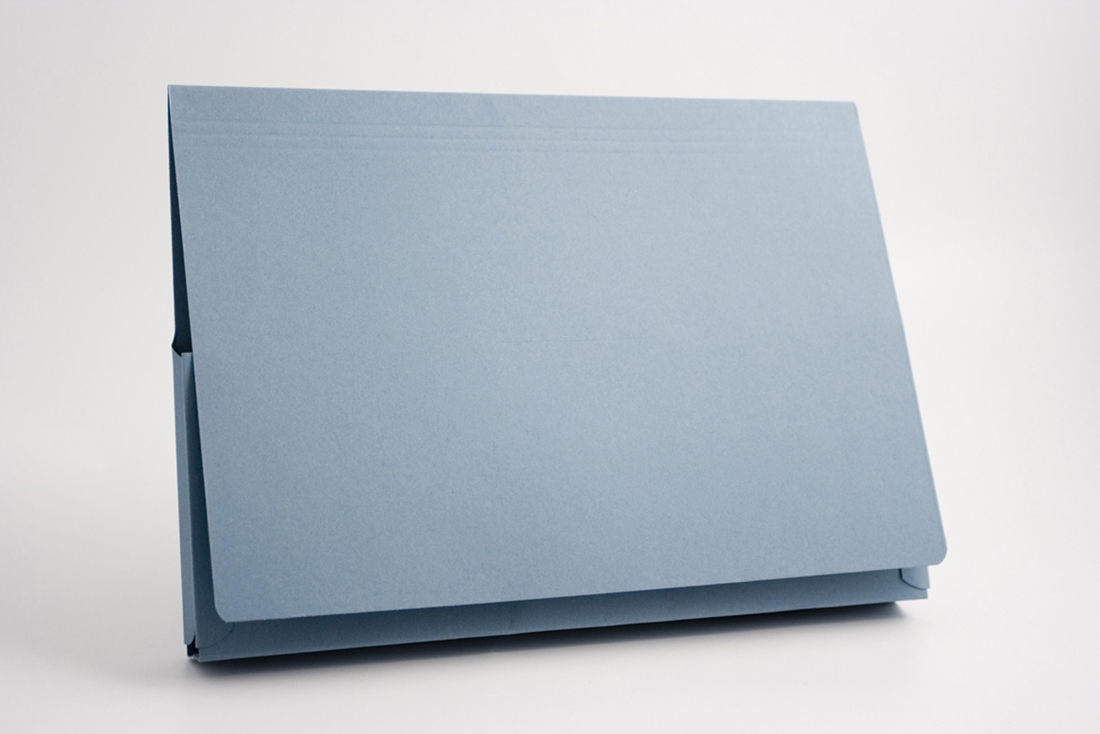 Guildhall Super Heavyweight 14x10 Flap Wallet Blue PK25