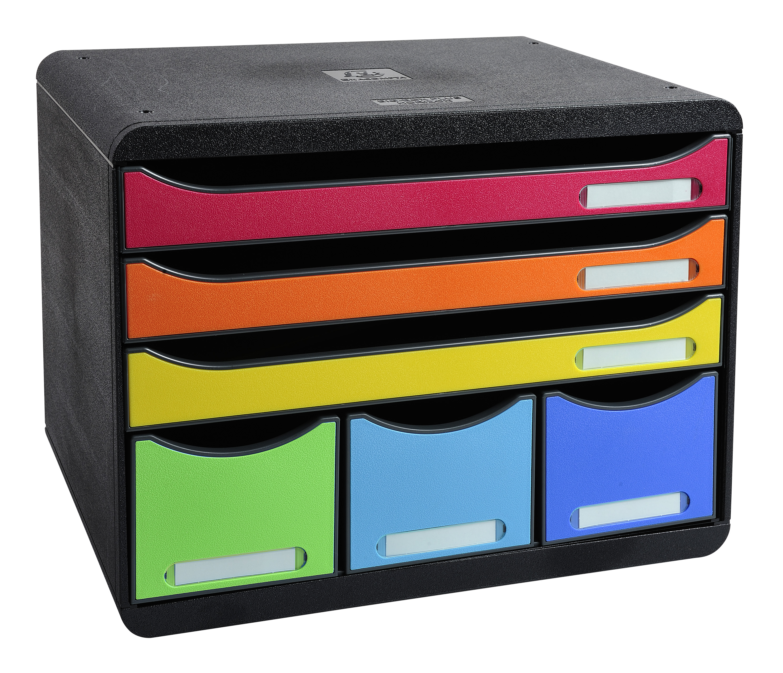Exa Store Box Maxi 6 Drawer BK/HQ