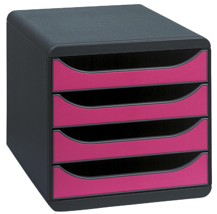 Exa Big Box Iderama Black/Raspberry