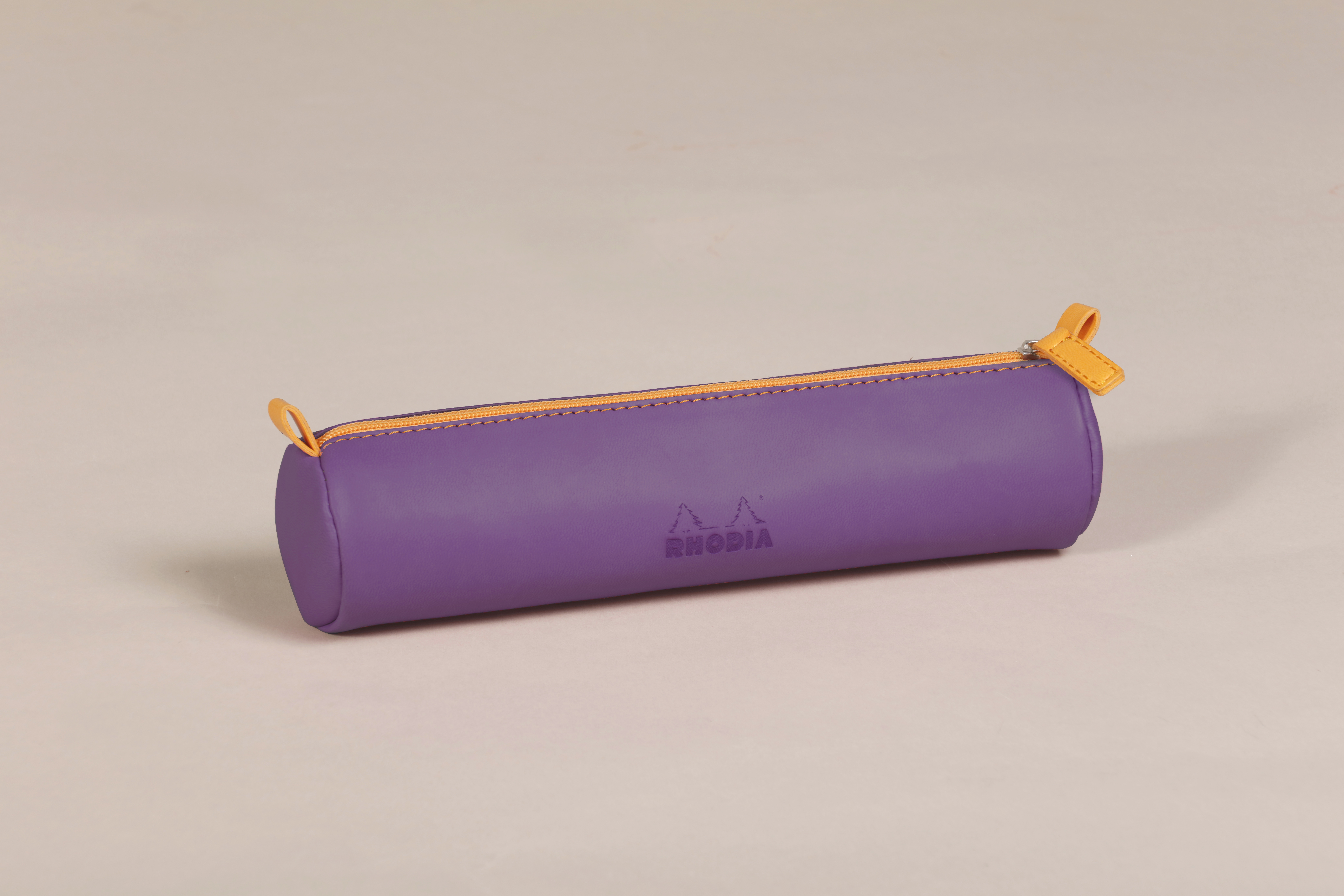 Rhodiarama Round Pencil Case PU