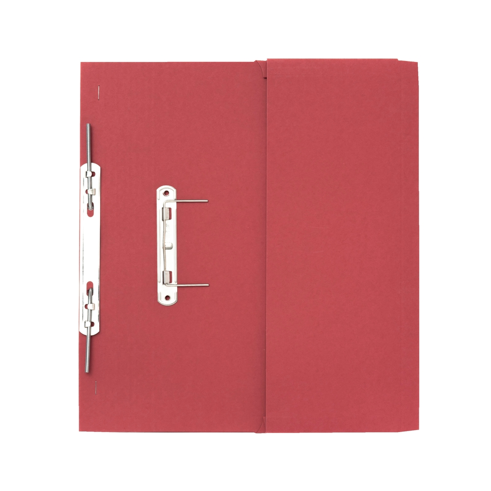 Legal Filing Guildhall 38mm Transfer Spring Files Foolscap Red PK25