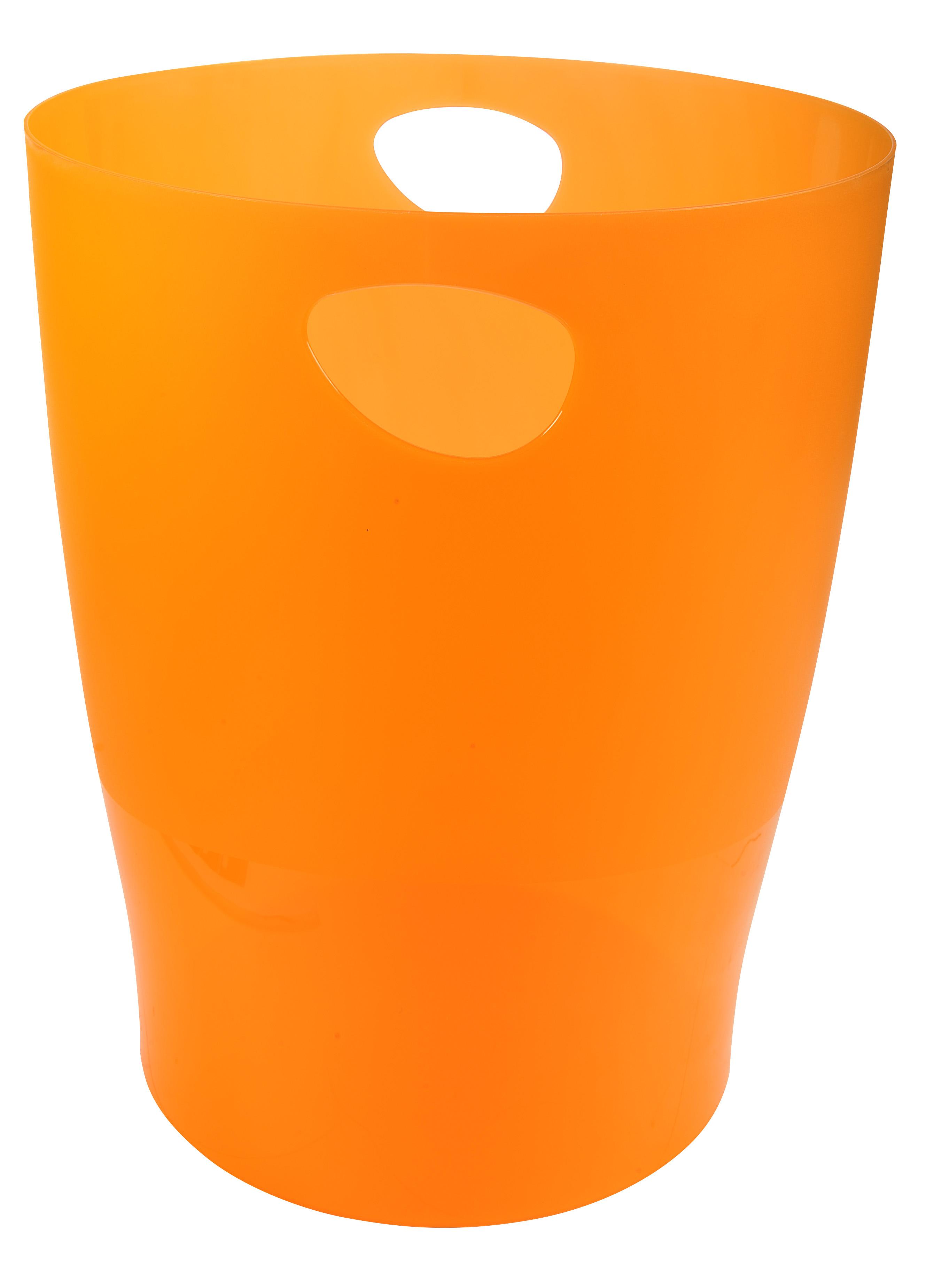 Rubbish Bins Exacompta ECOBIN 263x263x335mm Orange 45352D