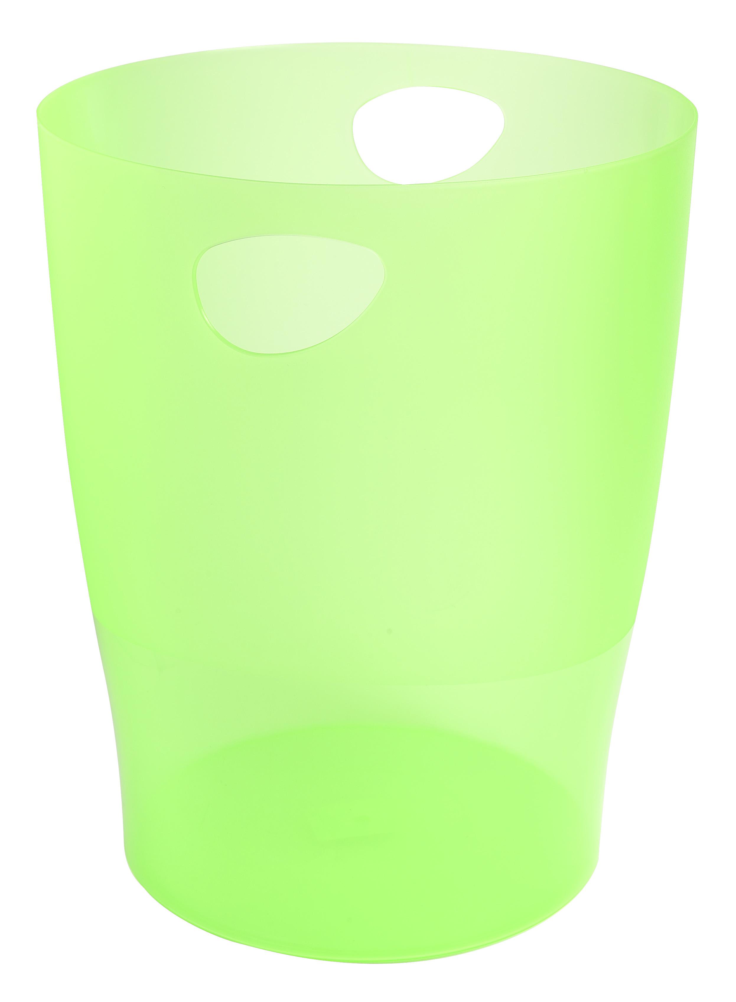 Rubbish Bins Exacompta ECOBIN 263x263x335mm Apple Green 45397D