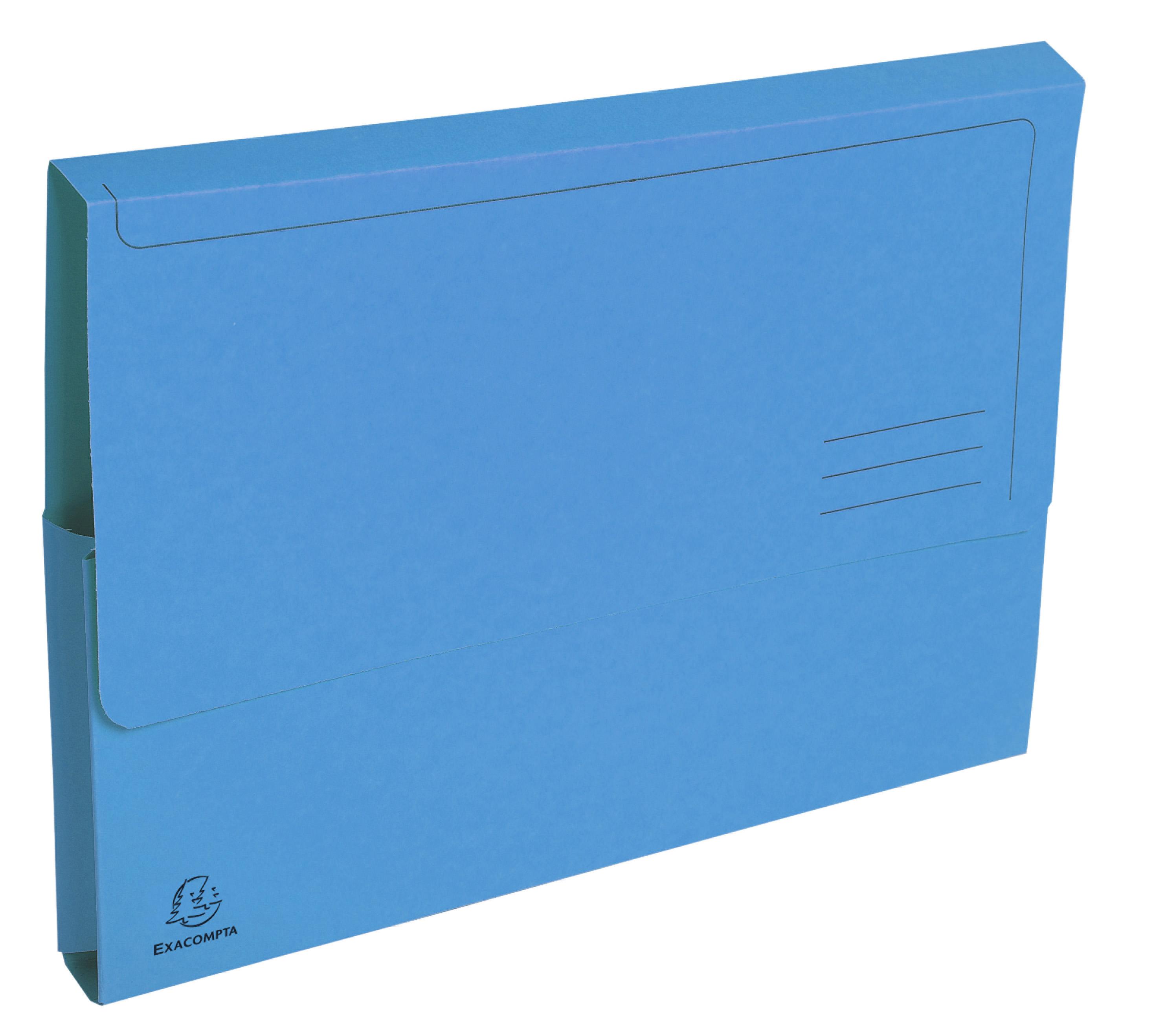 Forever Doc Wallet A4 290g BL PK50