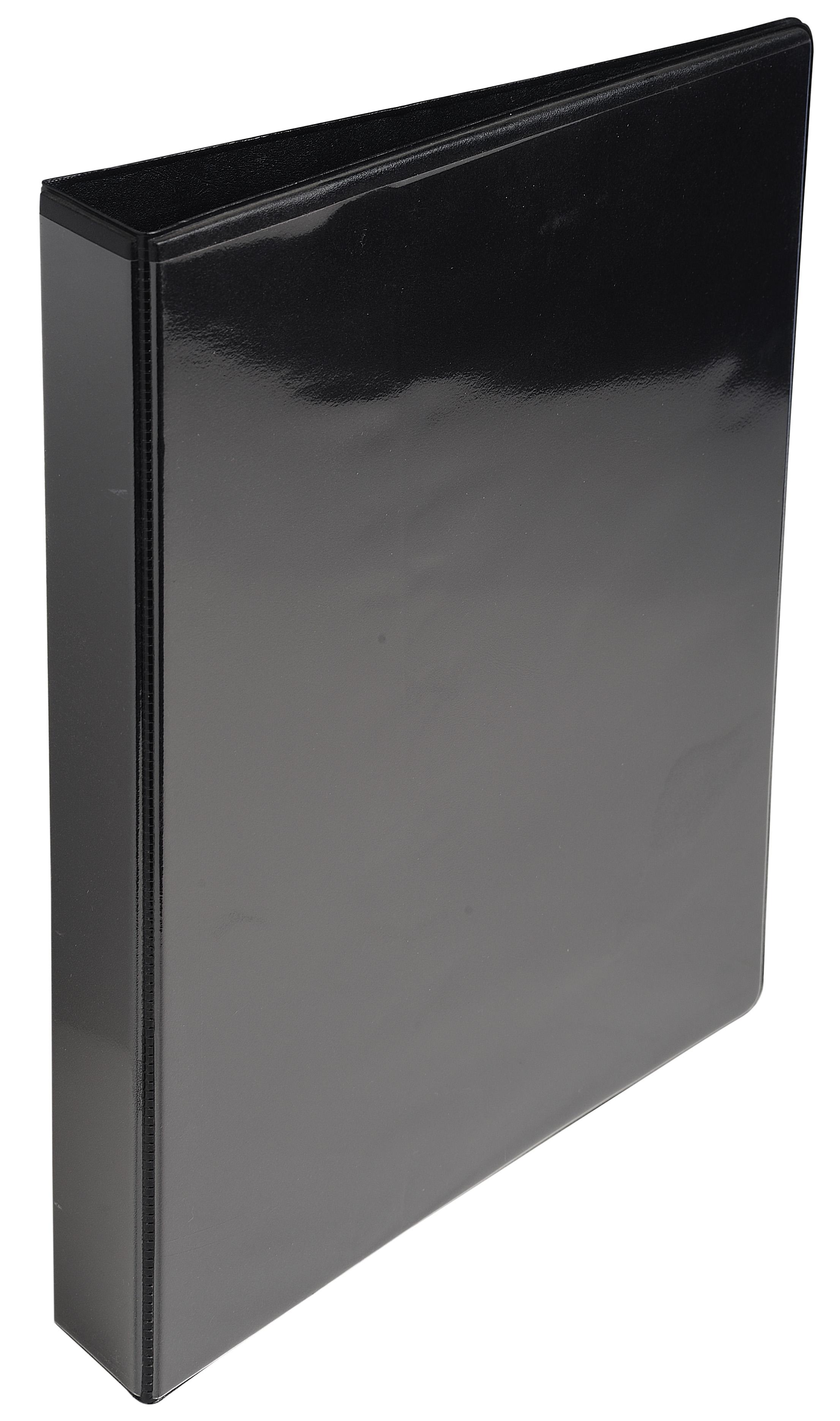 Ring Binders ValueX Presentation Binder 2D 25mm A4 Black (Pack 10)