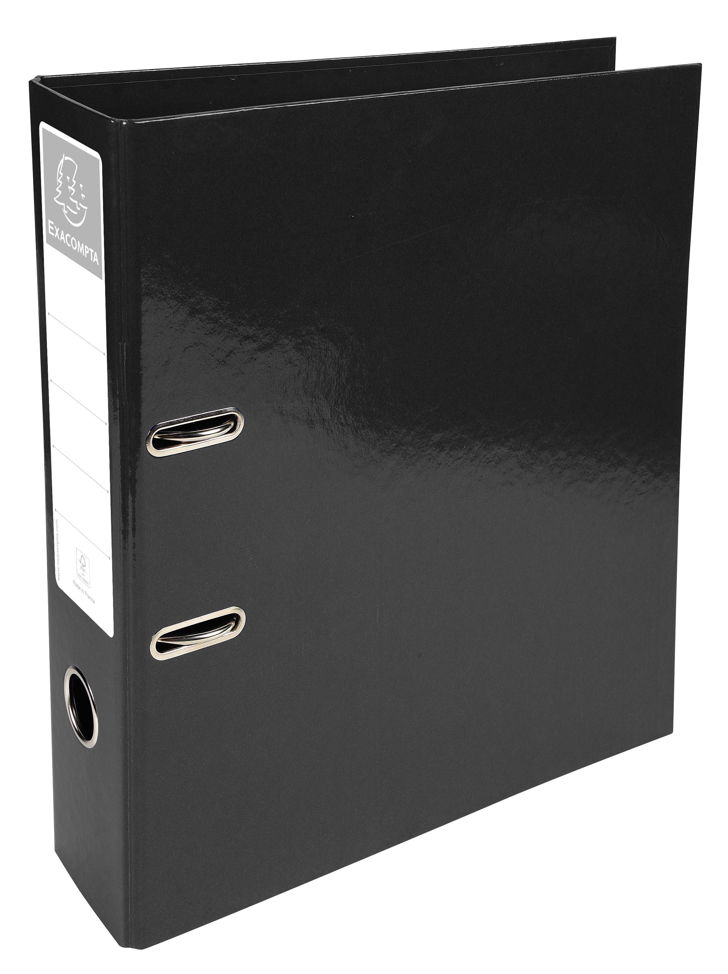 Iderama Lever Arch File 70mm BK PK10