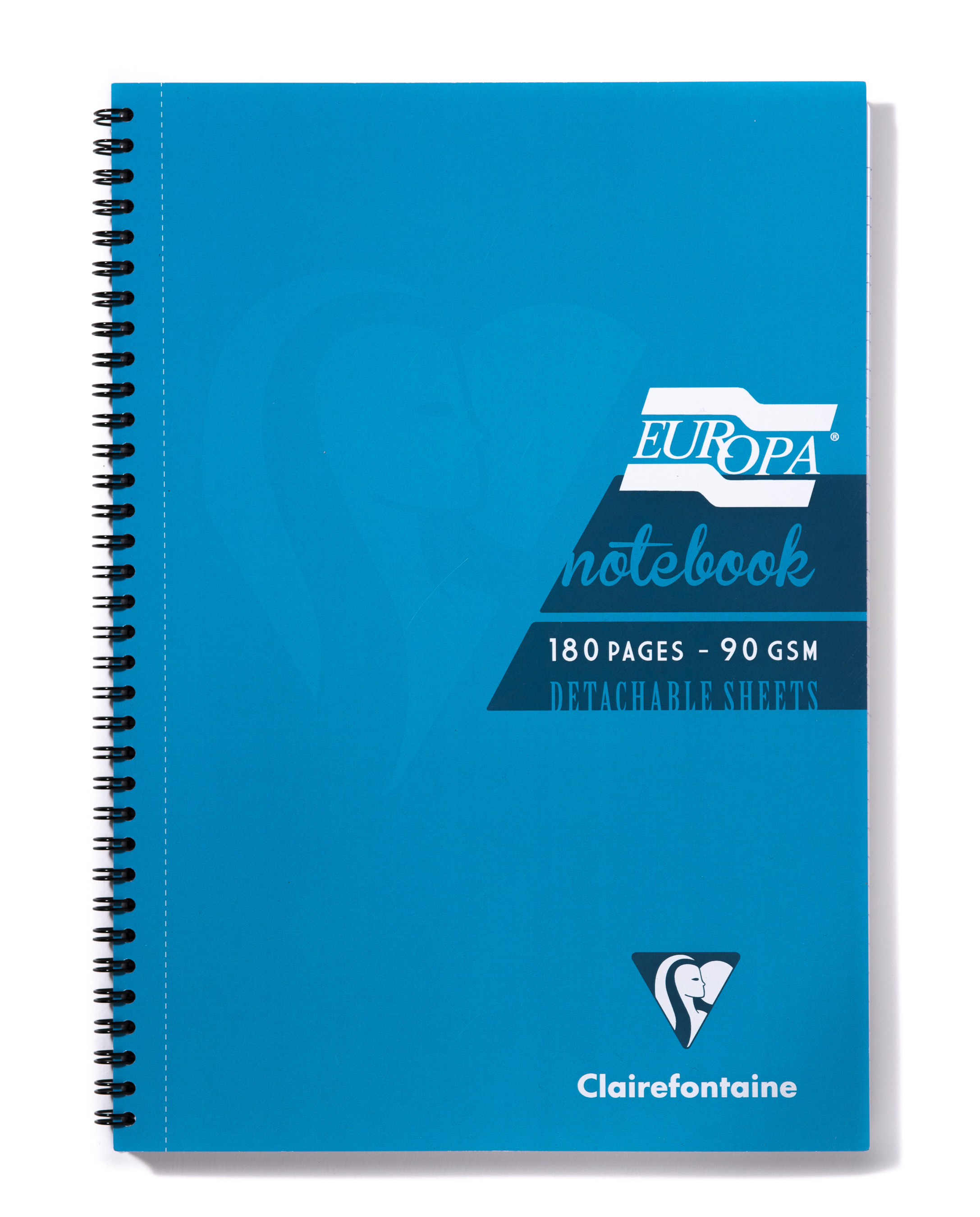 Europa A4 Sidebound Notebook Turquoise PK5
