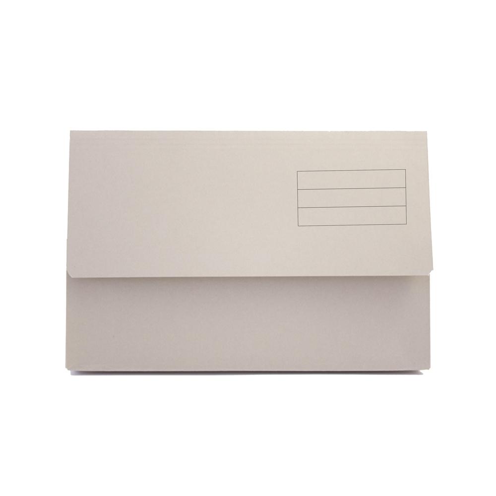 Value Document Wallet Foolscap Buff PK50