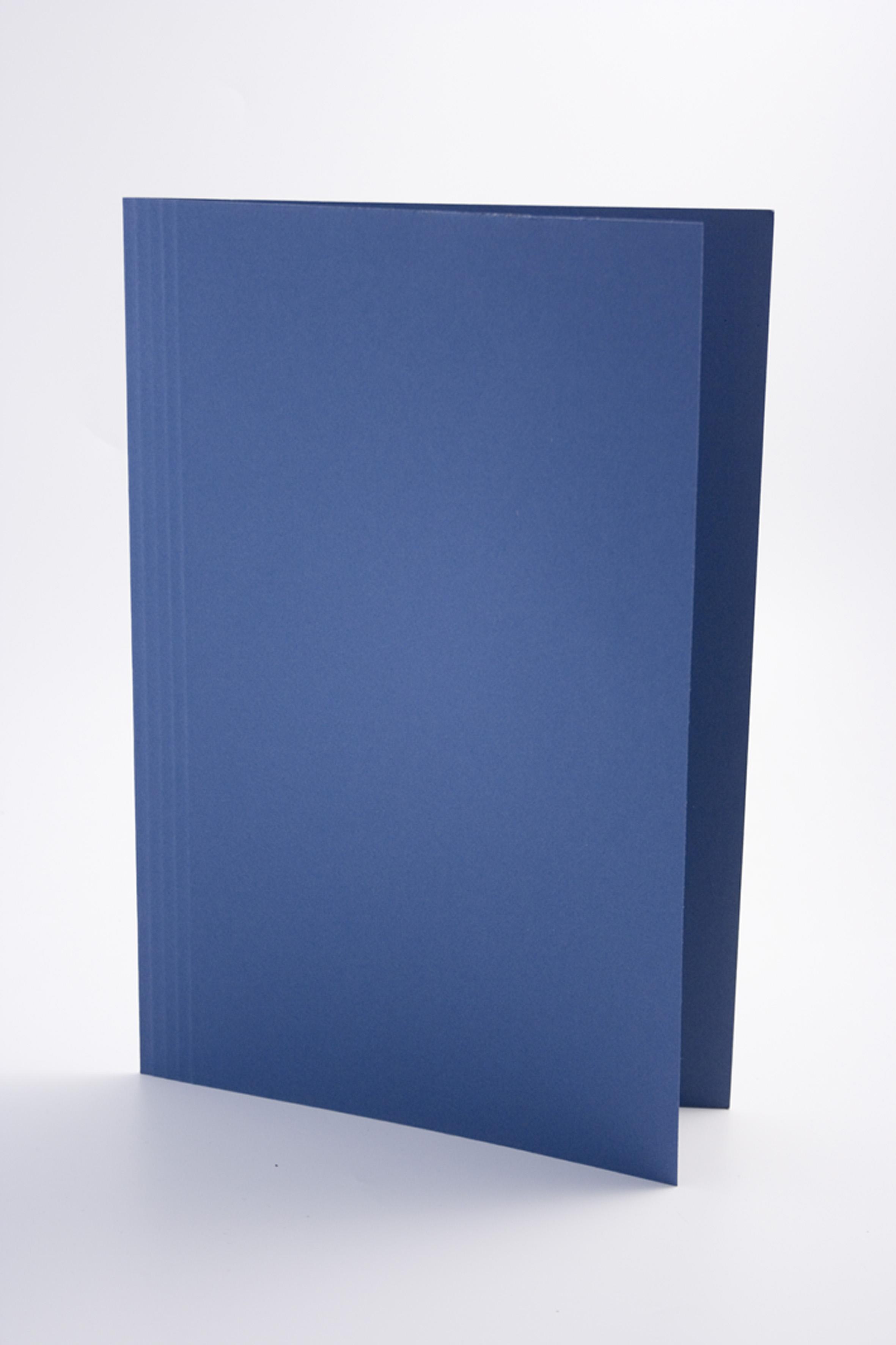 Guildhall Square Cut Folder Foolscap 250gsm Blue PK100