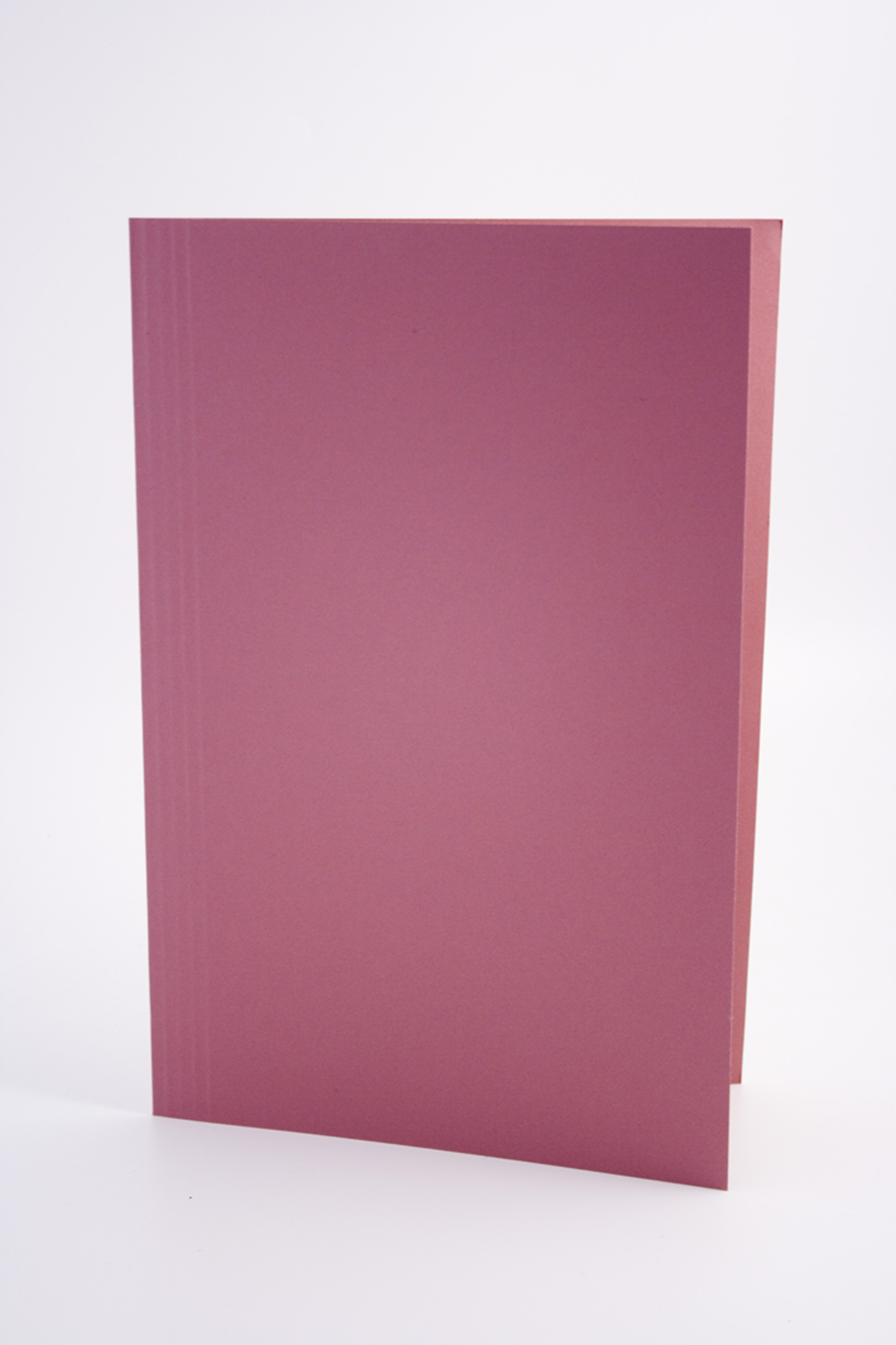 Guildhall Square Cut Folder Foolscap 250gsm Pink PK100
