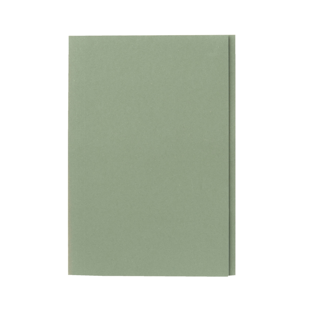 Guildhall Square Cut Folders Manilla Foolscap Green PK100