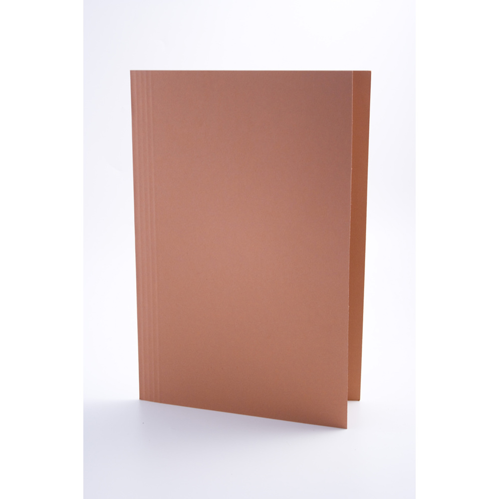 Legal Filing Guildhall Square Cut Folders Foolscap Orange PK100
