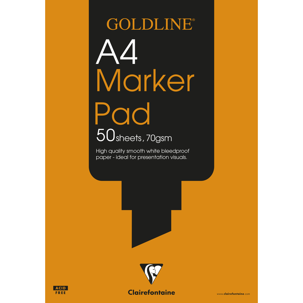 GDline BleedproofMarker Pad A4