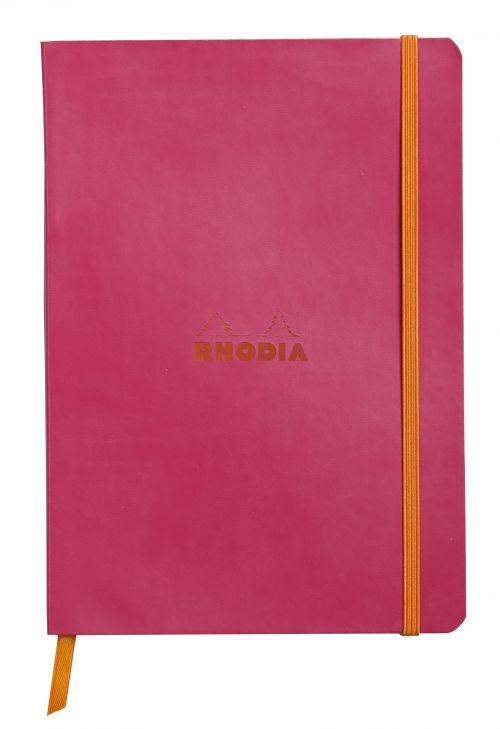 Oxford Stationery A4 Pink//Black 192Pg Notebook Pack Of 5