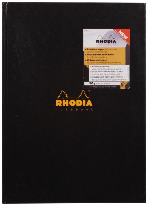 Rhodia Business Book A4 Hardback Casebound 119230C - (PK3)