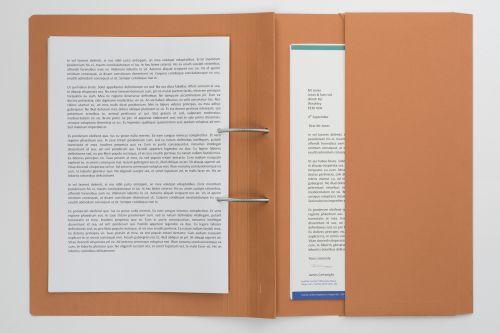 Guildhall Heavyweight Pocket Spiral File Fscap Orange PK25