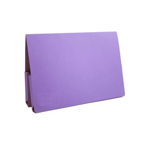Guildhall Double Pocket Legal Wallet Mauve PK25