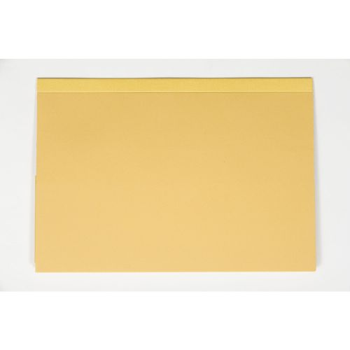 Guildhall Foolscap Double Pocket Legal Wallet Yellow PK25