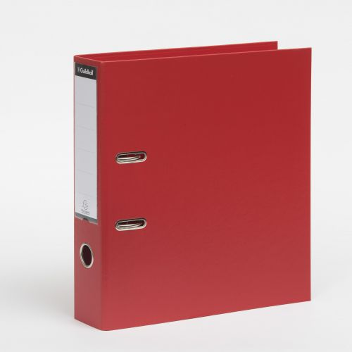 Guildhall Lever Arch File 80mm Red PK10