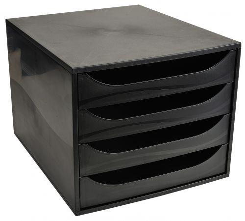 Recycled Drawer Set 234x284x355mm Black