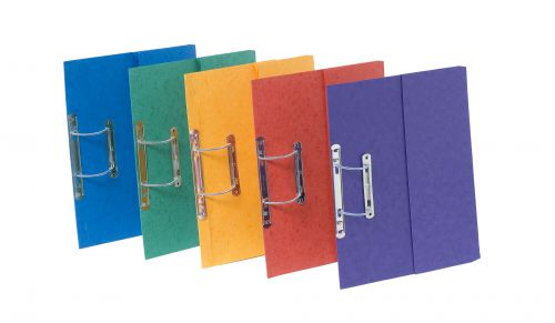 Europa Pocket Spiral File Assorted (25) 3010Z