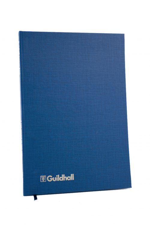 Exacompta Guildhall Account Book 80 Pages 8 Cash Columns 31/8 1020