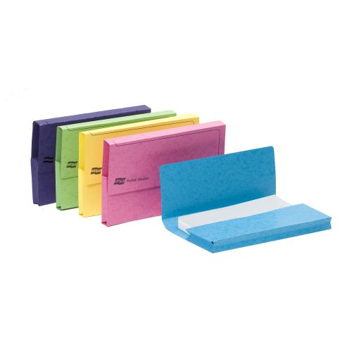 Europa Pocket Wallet Foolscap Assorted Colours C (25) 3156Z