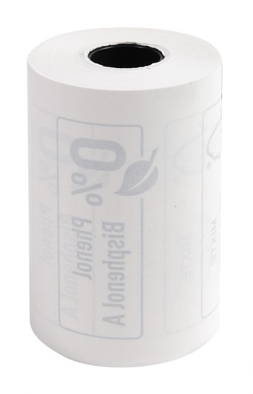 Thermal Rolls Phenol Free 55g 57x40x12mm 18mm PK10