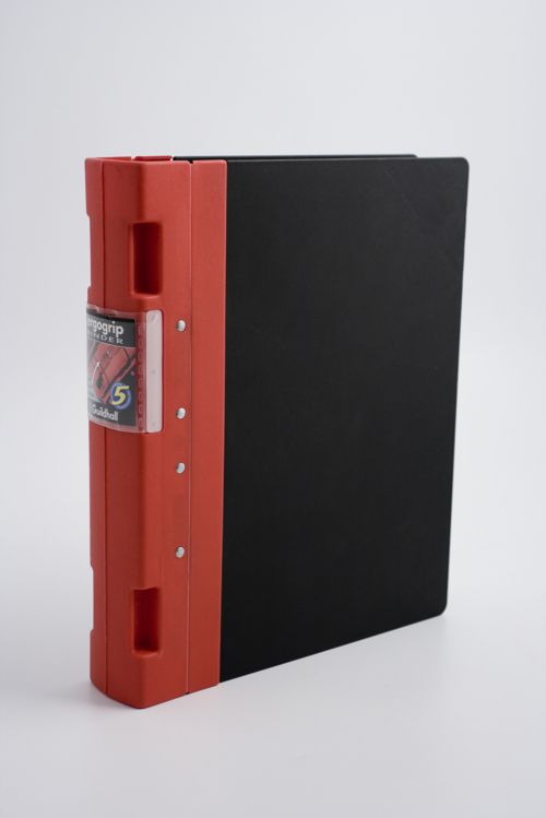 Guildhall GL Ergogrip Ring Binder 2-Ring 55mm A4 Red PK2