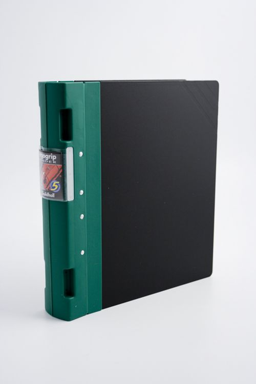 Guildhall GLX Ergogrip Ring Binder 4Ring 55mm A4 Green PK2