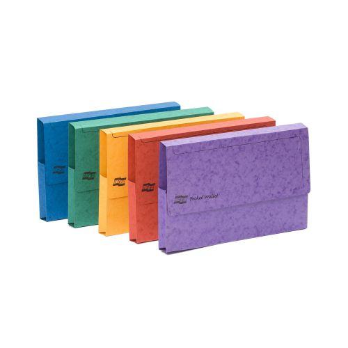 Europa Pocket Wallet A3 Assorted 4780Z (PK25)