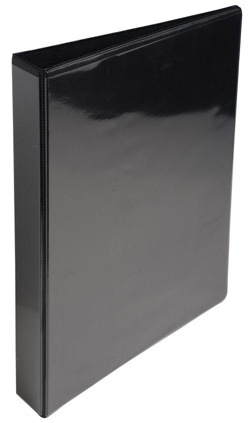 ValueX Presentation Binder 2D 25mm A4 Black (Pack 10)