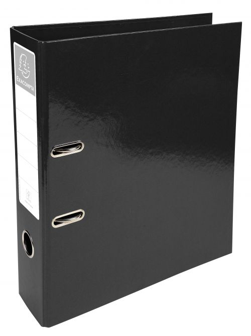 Iderama Lever Arch File 32x30cm 70mm Spine Black PK10