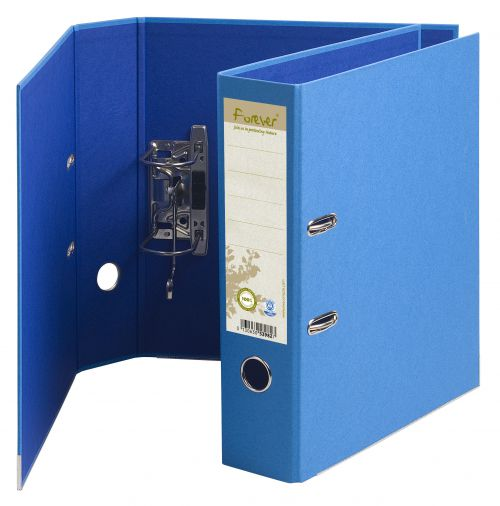Forever PremTouch Lever Arch File A4 80mm Blue BX10