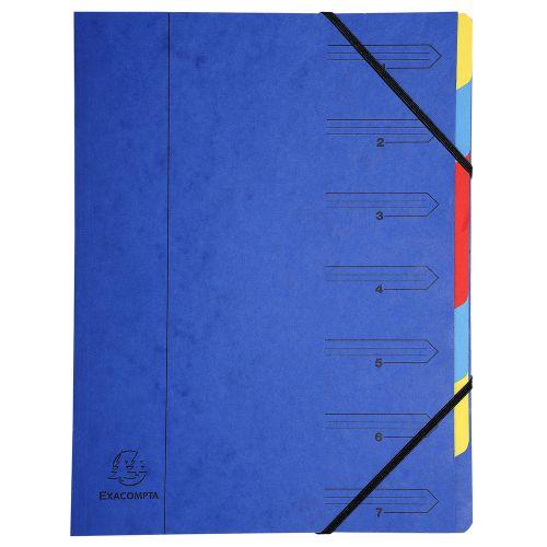 Exacompta Multipart File A4 Blue