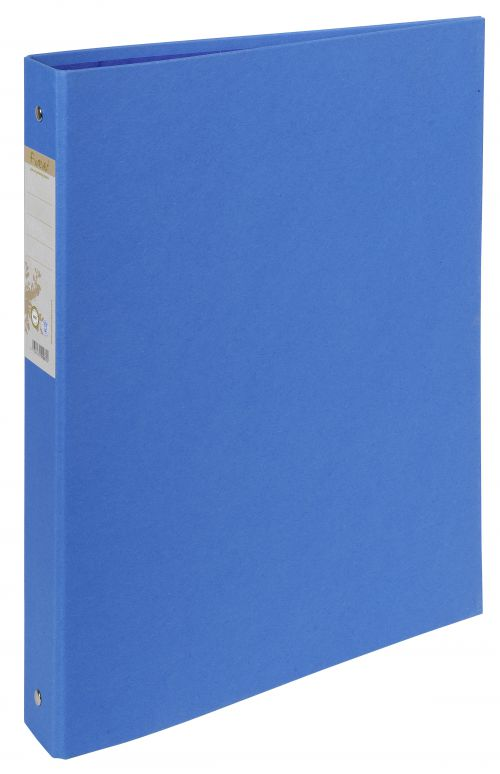 Forever 100% Recycled Ringbinder 2R 30mm Blue BX10